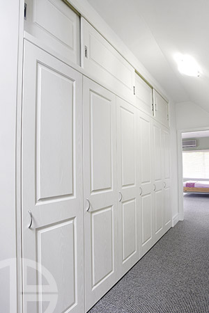 Brooklyn - White ash classical square hinged & sliding doors