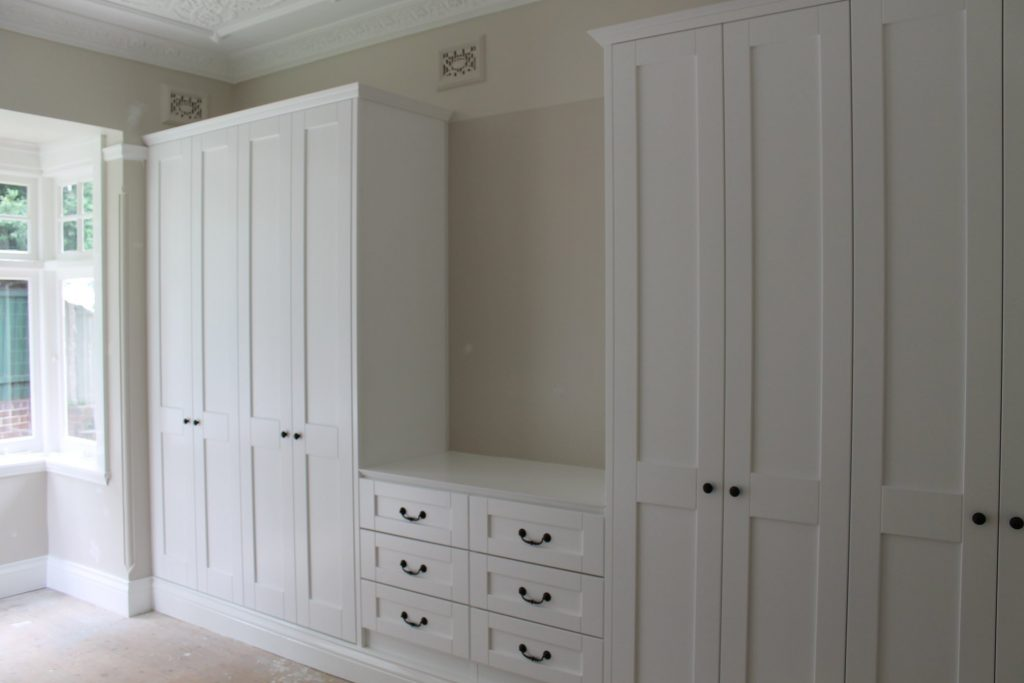 types of wardrobes for your bedroom