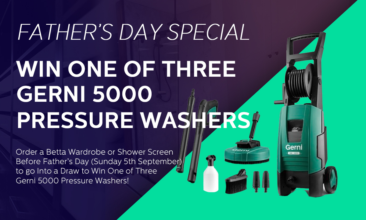 Betta Wardrobes Father's Day Special
